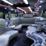 Interior Hummer Limo Stretch