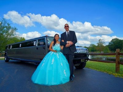 Quinceanera limo NC