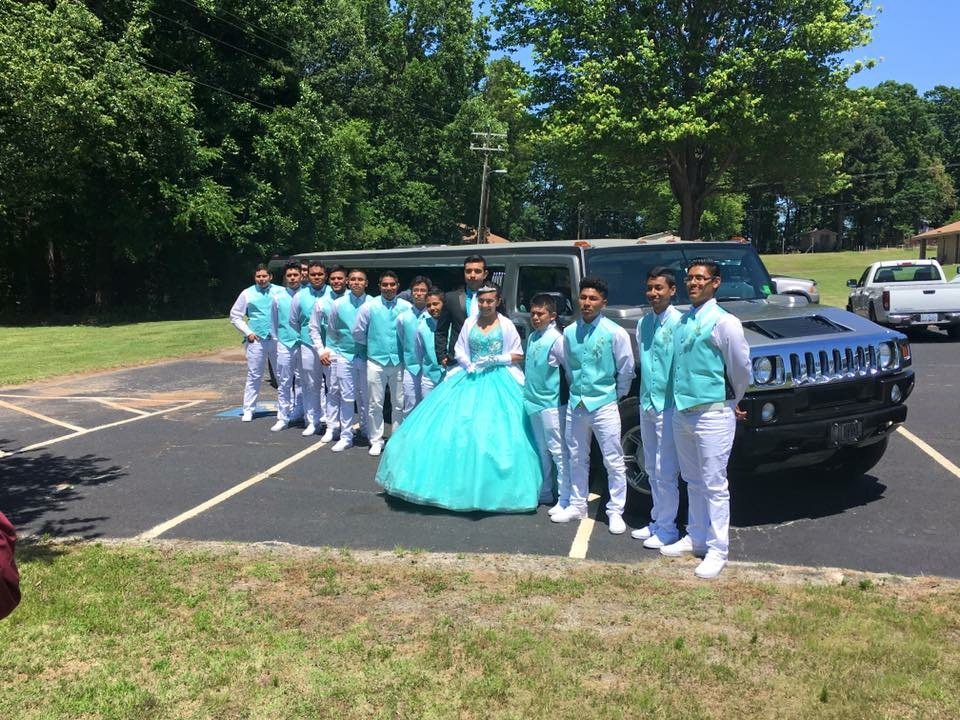 Quinceanera NC limo