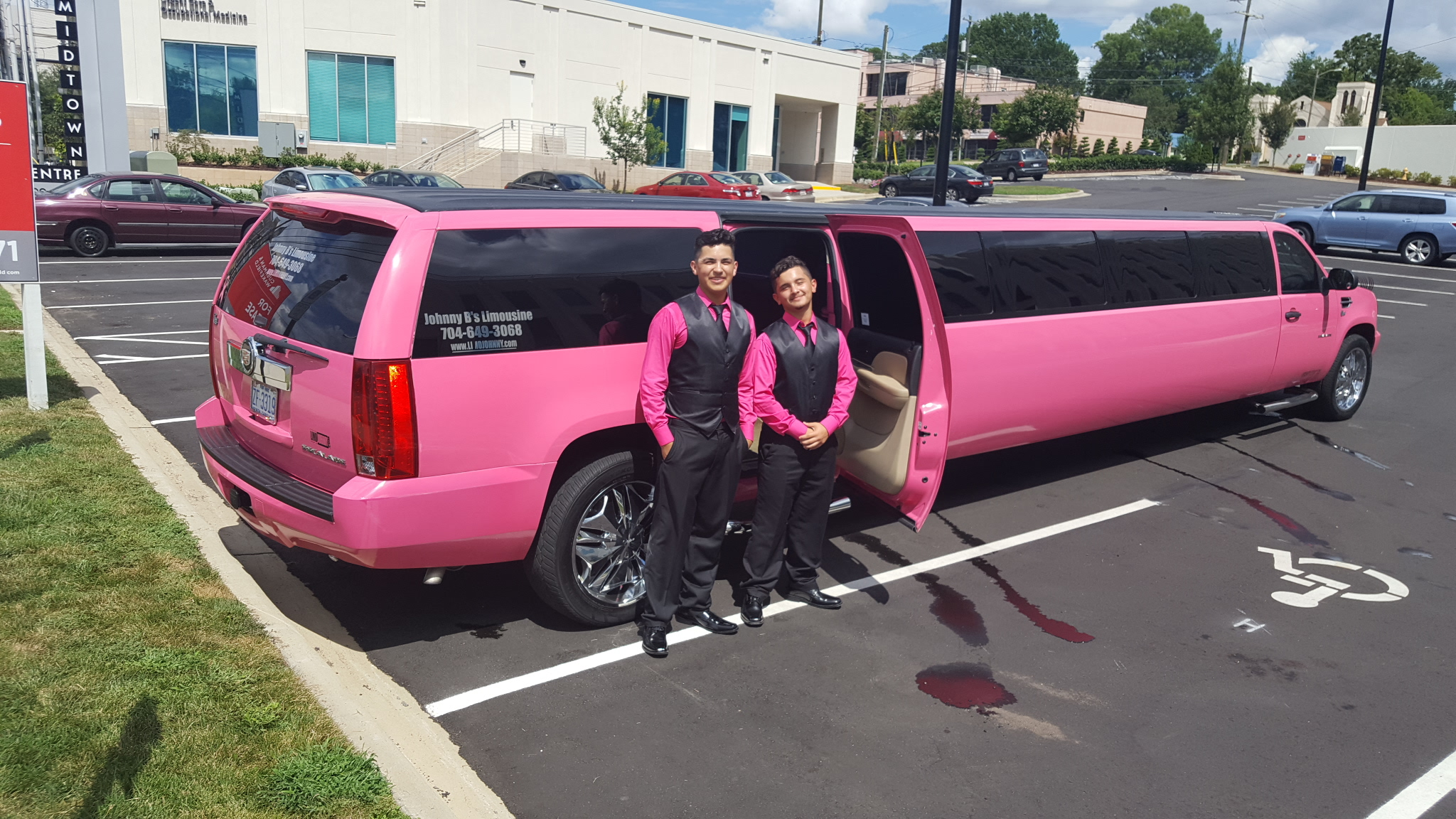 Quinceanera Johnny B's Limo
