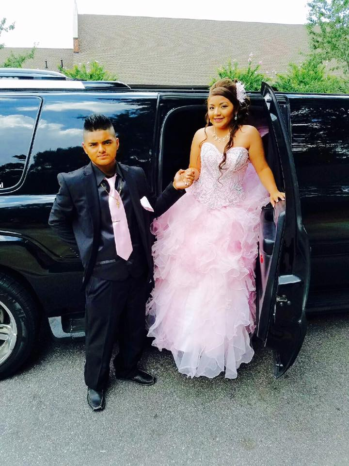 Quinceanera pink and black