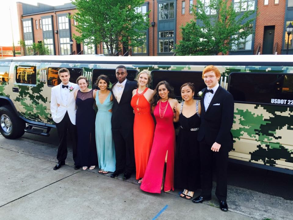 Carolina Luxury Transportation Group had the only Camo Hummer limo in the USA